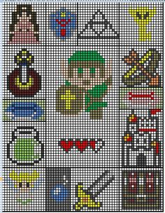 legend of zelda knit or crochet blanket? I think yes!!