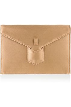 yves saint laurent satin clutch