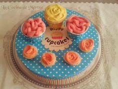La Cocina de Mertxe: Cupcakes de Frambuesa y Limón