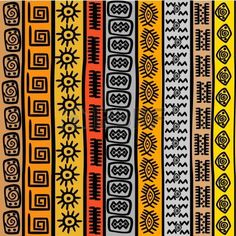 Stock Vector Vector - Seamless pattern with ethnic African m.- Stock Vector Vector – Seamless pattern with ethnic African motifs Stock Vector Vector – Seamless pattern with ethnic African motifs - Ethnic Patterns, Textile Patterns, African Patterns, Japanese Patterns, Art Patterns, Floral Patterns, African Colors, Animal Patterns, Arte Tribal