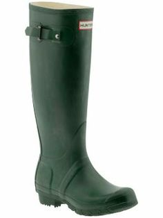 I love my Hunter rainboots!! Great for when the snow is melting and there is mud on the ground.