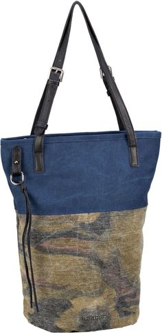 f45076a042f57 Fredsbruder Roadtrip Khaki Camouflage Dark Navy Shopper