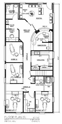 dental office build out blueprint floorplan homer glen www