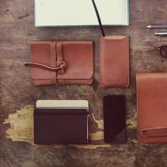 (ENG) - Besides our bags and backpacks, we have a range of small, and very special, leather goods. While Alvados is ideal for carrying documents, tickets or even a travel guide, Viegas cover is definitely the best way to protect your smartphone in style. Handcrafted in Portugal with vegetable tanned leather, both are excellent gifts for Christmas. //(PT) - Para além das nossas malas e mochilas, temos uma linha de pequenos, e muito especiais, acessórios em pele. Enquanto a Alvados é ideal… Smartphone, Vegetable Tanned Leather, Travel Guide, Backpacks, Wallet, Gifts, Products, Style, Traveling