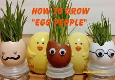 Google eyed egg people!