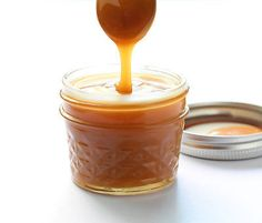 Learn how to make delicious Vegan Caramel Sauce with coconut cream. This delicious and easy recipe also is dairy free, clean eating and paleo friendly. Dairy Free Treats, Dairy Free Recipes, Gluten Free, Vegan Recipes, Cat Recipes, Lactose Free, Yummy Recipes, Paleo Dessert, Healthy Desserts