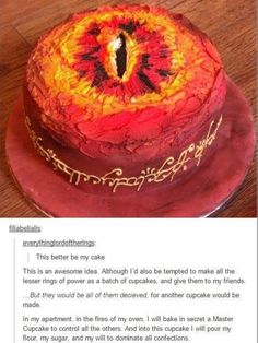 One cake to rule them all