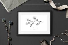 40+ Botanical Hand Drawn Elements by William Hansen on @creativemarket #botanical #handdrawn #ad