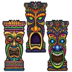 tiki printables - Google Search