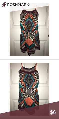 Printed romper Women's printed romper with tassel. Size S. Worn once! Flying Tomato Other