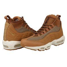 newest 2fa4e 63f2b Collection de Nouvelle saison 2018 de Nike Baskets Air Max 95 Sneakerboot  Lin (2017) Lin Ale marron Voile 806809-201 en vente en ligne. Sports Shoes