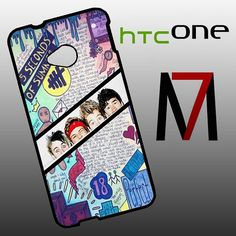 Features: and attractive outlook to fit for HTC One perfectly, and can be installed/removed easily your HTC One from external scratches and shocks or dirt 5sos Collage, Collage Art, Htc One M7, How To Remove, Phone Cases, Stylish, Fit, Design, Shape