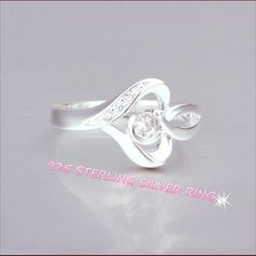925 Sterling Silver Finger Ring This jewelry is crafted of platinum overlay sterling silver in a polished finish prevent the silver from tarnishing and give the look of platinum.  Sterling Silver 925. High quality Roedarryl Jewelry Rings