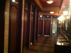 Bizarre / but have to be the nicest pub toilets - Wetherspoons - Durham 2013. 11/05/2013