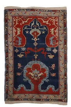 Turkish prayer rug, 1900