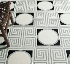 Ann Sacks - Michael S Smith Cosmati is an exclusive hand-crafted stone mosaic program designed by one of the industry·s most respected talents. The collection offers a breathtaking range of designs that draw inspiration from various elements of Greek, Moroccan and Parisian antiquities.