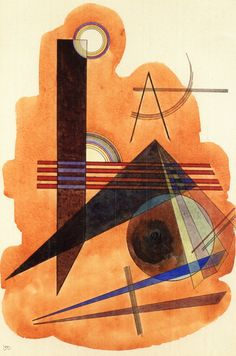 The Athenaeum - Obstinate Brown (Wassily Kandinsky - )
