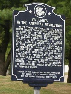 Vincennes, Indiana - American Revolution