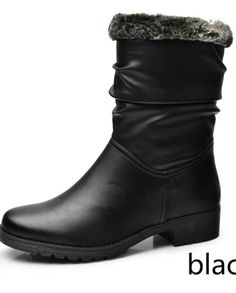 Woman's Best Winter Warm Fashion Boots | Cheap Black Boots ~ 60% Off