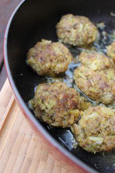 La fucina culinaria: Le polpette al sedano e limone di Ottolenghi,no mie!