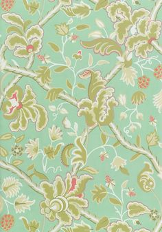DENMARK, Aqua, T6035, Collection Anniversary from Thibaut