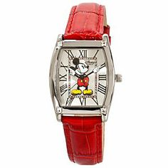 Classic Red Mickey Watch