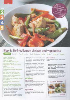 Stir-fried lemon chicken and vegetables Step 3