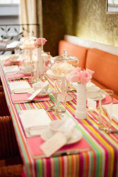 Chá Parisiense | Mesa das convidadas