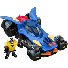 Check out the Imaginext DC Super Friends Batmobile at the official Fisher-Price website. Explore the world of Imaginext today!