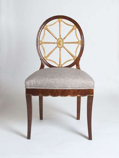 Set Of 4 Swedish Art Deco Chairs Designed By Otto Schulz Circa 1920. | From a unique collection of antique and modern dining room chairs at https://www.1stdibs.com/furniture/seating/dining-room-chairs/