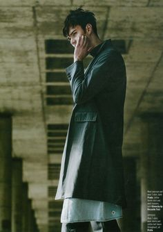 Charles Markham for August Man Singapore by Chuck Reyes