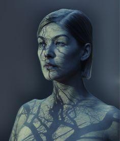 """Gone Girl"" star Rosamund Pike as photographed by Nadav Kander"