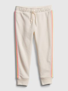 Saw this on Gap: Gap, Girls Clothes Shops, Toddler Girl Outfits, Plastic Bottles, Reuse, Joggers, Rainbow, Content, Shopping