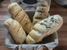 Rezept Weltbestes Zwiebelbaguette von majo28 - Rezept der Kategorie Brot & Brötchen