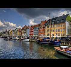 Nyhavn Canal in Copenhagen, Denmark (picture by Lee Orchard Photography)