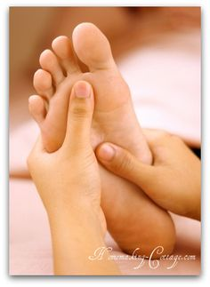 Soothing spa pedicure - The Homemaking Cottage
