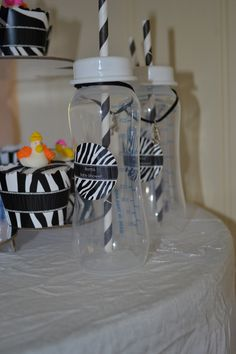 Zebra Themed Baby Shower from @BigDotOfHappiness.com | Baby Shower Ideas and Decorations #BigDot #HappyDot