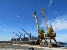 Vene-Balti sadam by Veeseire Utility Pole, Tech, Big, Technology