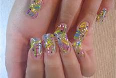 """Obtain wonderful recommendations on """"acrylic nail art designs ring finger"""". They are actually readily available for you on our site. Nail Art Designs, Creative Nail Designs, Pretty Nail Designs, Colorful Nail Designs, Creative Nails, Nails Design, Colorful Nails, Easy Designs, Fingernail Designs"""