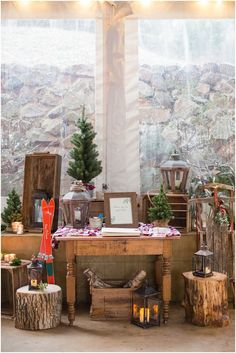 Elegant Christmas styled Virginia wedding by Kristen Gardner Photography. As seen on United with Love, a source for Virginia wedding inspiration and ideas. Winter Wedding Receptions, Wedding Reception Decorations, Table Decorations, Wedding Ideas, Elegant Christmas, Christmas Trees, Big Red Barn, Willow Grove, Christmas Photography