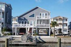 Ocean Isle Beach Vacation Rental Canal House | 16 Pender Street | Sunset Properties