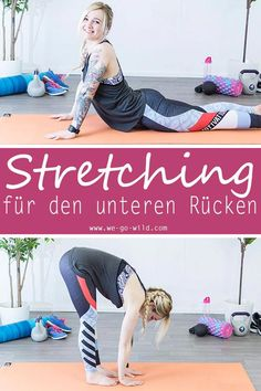 Who sits a lot should treat your body to stretching exercises for the back. So you can easily train back pain away. This workout is suitable for at home and for the office. You don't need fitness Yoga Fitness, Fitness Workouts, At Home Workouts, Fitness Quotes, Fitness Goals, Insanity Workout, Best Cardio Workout, Workout Tips, Workout Plans