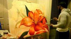 lorenzo pickett artist | Acrylmalen-malen-lernen-anleitung-zum-bambus-acrylic-painting-tutorial ...