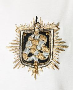 Image 5 of T-SHIRT WITH SNAKE APPLIQUÉ from Zara