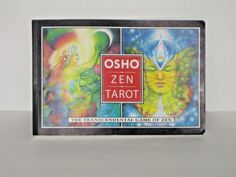 Osho Zen Tarot The Transcendental Game Of Zen BOOK ONLY NO CARDS PB BOOK #paperbackbook