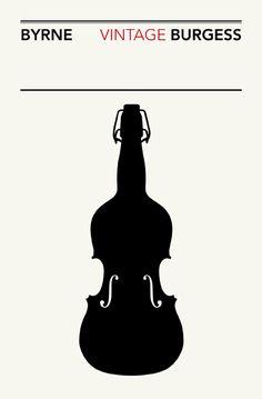 Anthony Burgess. Design: Isidro Ferrer