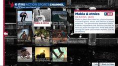 Etnies Action sports channel, app voor Samsung smart tv #iptv #smarttv