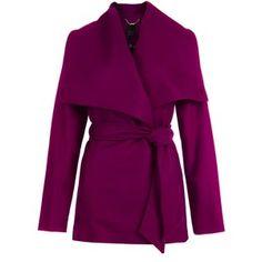 Love this purple jacket