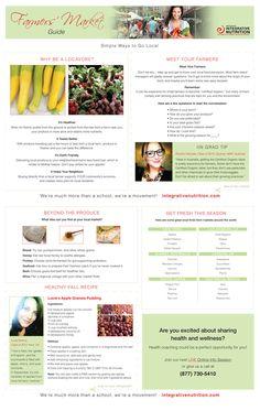 Farmers Market Guide   Institute for Integrative Nutrition