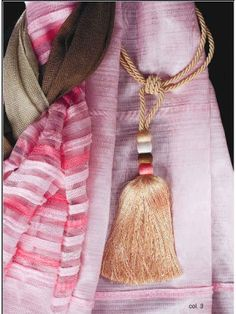 Large Tie Back Barrel Tassel Curtain Rope Tiebacks Voile-drapes Holdback Tassel Curtains, Curtain Accessories, Tie Backs, Tassel Necklace, Barrel, Tassels, Tracking Number, Drapery, Etsy